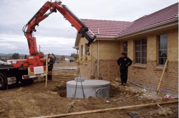 Concrete rainwater Tanks