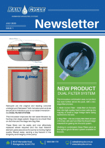 Raincycle- New Product Announcement Dual Filter System