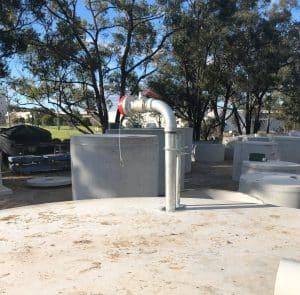 Fire Fighting Water Tank