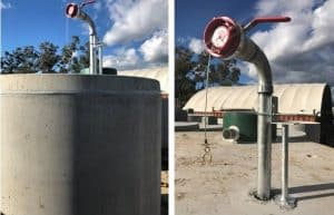We Provide Storz Fittings With Our Fire Fighting Water Tanks